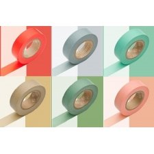 CELO JAPONES / MASKING TAPE LISO 15MMX10M. VARIOS COLORES