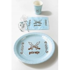 Servilleta de papel. Pirate azul cl. C/20 uds