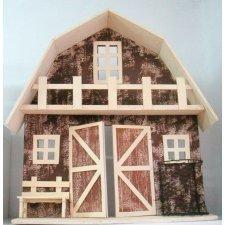 Casa de madera 75 cms