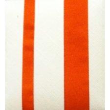 Cinta de regalo en algodón color naranja. Varios anchos