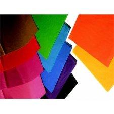 250 Hojas de papel de seda liso - Gama económica. Varios colores
