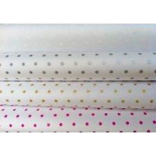 40 Hojas de papel de seda lunares. Varios colores