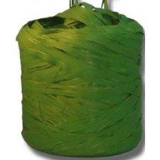 Cinta de rafia sintética. Verde militar. 200 m.