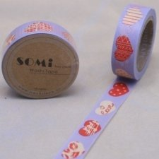 washi tape Patch heart. 15 mm x 10 m