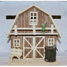 Casa de madera 24 cms