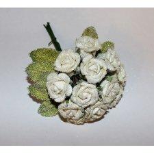 3 Pomos de 12 rosas azúcar