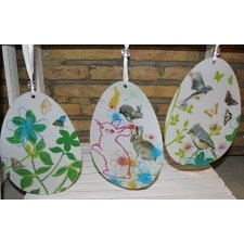 3 Huevos de Pascua para colgar