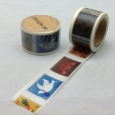 washi tape STAMP. 3 cms x 10 m.