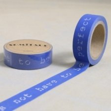 Washi tape TO BE WONDERFUL 15 mm x 10 m.