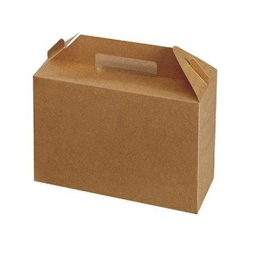 10 Cajas picnic kraft.
