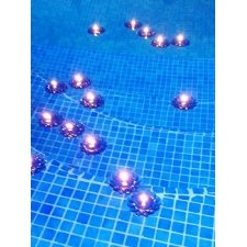 24 Velas flotantes margarita azul