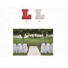 Letras de papel, LOVE - Guirnalda
