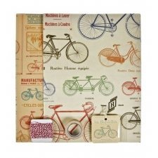 Set para empaquetado de regalo. Bicycles