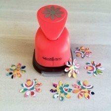 Troqueladora flor 2.5 cms.