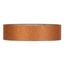 Tape glitter cobre. 25 mm x 10 m.