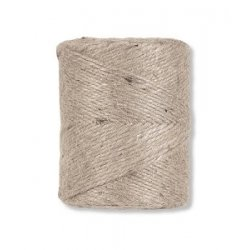 Cuerda / cordón de yute natural. 500 grs