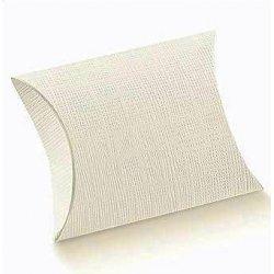 10 Cajas de regalo, petaca color blanco, 17x13x4 cms