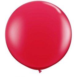Globo gigante rojo. Aprox 1 m