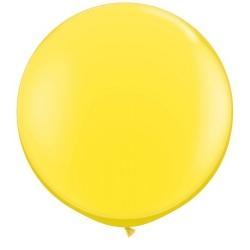 Globo gigante amarillo. Aprox 1 m