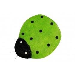 Mariquita verde 63x73 cms