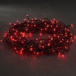 Guirnalda de luces de Navidad. 120 bombillas led rojo