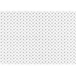 40 Hojas de papel de seda, Estrellas plateadas