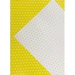 10 Hojas de papel A4, impreso a doble cara. Estrellas amarillas