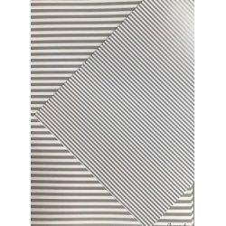 10 Hojas de papel A4, impreso a doble cara. Rayas grises