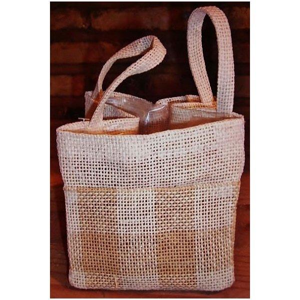 Bolsitas de tela de saco saquitos de tela de algodn - Saco de arpillera ...