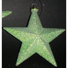 6 Estrellas colgante color pistacho