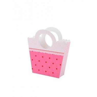 Bolsa de papel pink mix. 4 unidades16x18x5