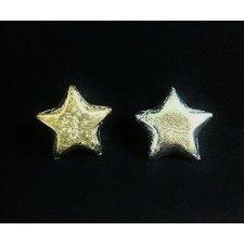 25 Estrellas adhesivas. 20 mm. 2 colores
