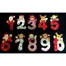 100 Números navideños