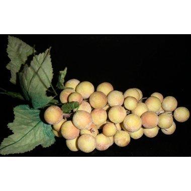 Racimo de uva amarillo otoño. Varios tamaños