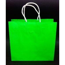 Bolsa flúor verde 26x12x24 C/5 unidades