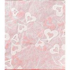 Papel corazones 70x100 C/2 uds