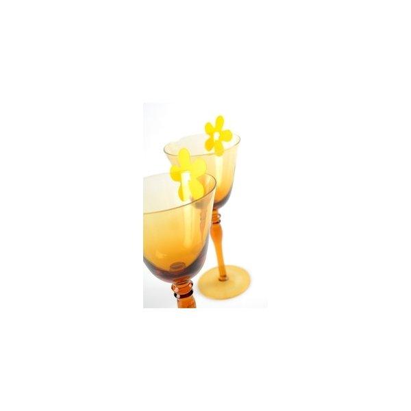 Clip flor. C/24 uds - Varios colores