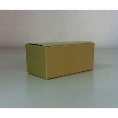 Caja de regalo crema. C/12 uds. 7x3x3 cms.