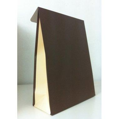 Sobre de regalo con solapa, marróncrema. Varias medidas