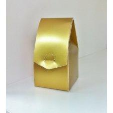 Caja de regalo dorada 5x9x5 C/10 uds