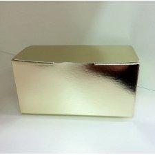 Caja bombonera oro. 111xx7x5 C/10 uds