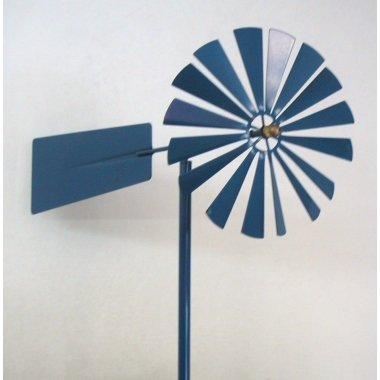 Molino de viento azul. 1 m.