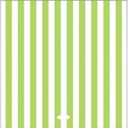 20 Servilletas de papel, rayas pistacho