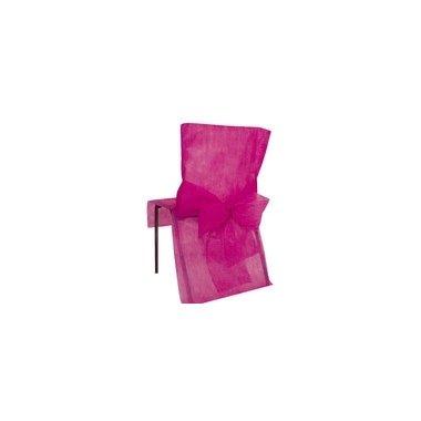 Funda para silla, de eventos, fucsia. C/10 uds