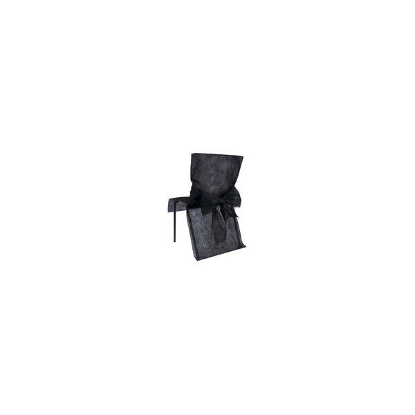 Funda para silla, de eventos, negro. C/10 uds