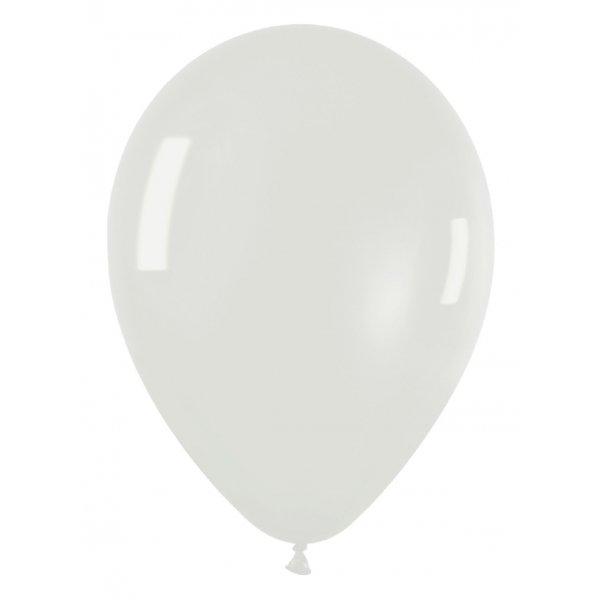 10 globos transparentes. 30 cms
