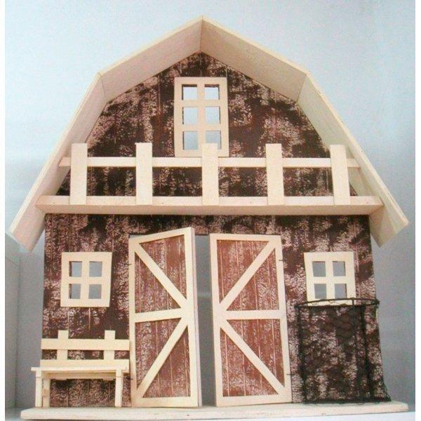 Casa-Granja de madera 75 cms