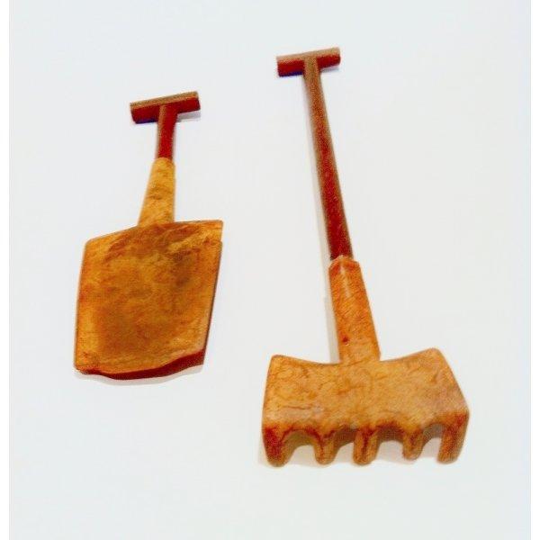 3 sets de 2 utensilios para jardín/complemento de regalo