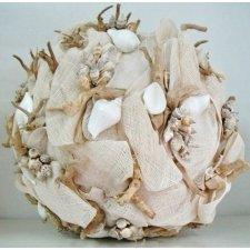 Bola decorativa, con conchas. 40 cms