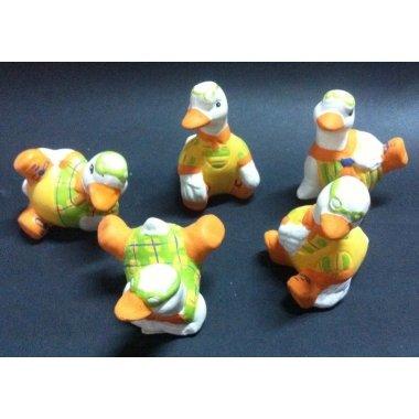 Patitos bañador naranja. C/12 uds surtidas